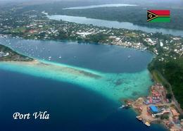 Vanuatu Port Vila Aerial View New Postcard - Vanuatu
