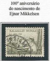 LSJP GREENLAND 100 YEARS EJNAR MIKKEELSEN 1980 - Greenland
