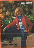 Tematica - Donne Celebri - 1979 - 1,10 + 0,20 Sabine De Gandon + Flamme - Carole Chabrier - Radio Monte Carlo - Viaggiat - Donne Celebri