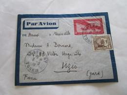 Lettre D'indochine Pour La France 9/6/1938 - Vietnam