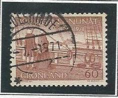 LSJP GREENLAND HANS EGEDE AND GERTRUDE RASK 1971 - Greenland