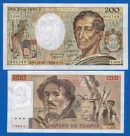 France  2  Billets - 1962-1997 ''Francs''