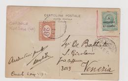 CURZOLA - KORCULA (Croazia - HR)  - F.p. Fotografica  - Anni '1910 - Croatie