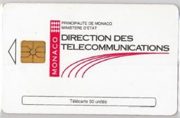 PHONE CARD-MONACO (E45.6.5 - Monaco