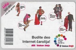 PHONE CARD-SERBIA (E45.8.5 - Jugoslawien