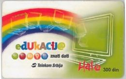 PHONE CARD-SERBIA (E45.8.7 - Joegoslavië