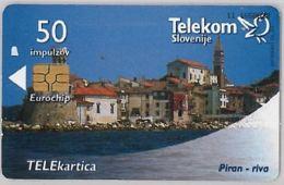 PHONE CARD-SLOVENIA (E45.15.8 - Slovenia