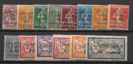 Grand Liban - 1924-25 - N°Yv. 1 à 14 - Série Complète - Neuf Luxe ** / MNH / Postfrisch - Neufs