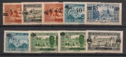 Grand Liban - 1926 - N°Yv. 75 à 83 - Série Complète - Neuf Luxe ** / MNH / Postfrisch - Great Lebanon (1924-1945)