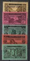 Grand Liban - 1927 - Taxe TT N°Yv. 16 à 20 - Série Complète - Neuf Luxe ** / MNH / Postfrisch - Great Lebanon (1924-1945)