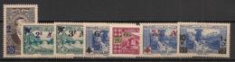 Grand Liban - 1943-45 - N°Yv. 180 à 186 - Série Complète - Neuf Luxe ** / MNH / Postfrisch - Great Lebanon (1924-1945)