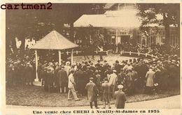 NEUILLY-SUR-SEINE UNE VENTE DE CHEVAUX CHEZ CHERI NEUILLY-ST-JAMES HIPPODROME HIPPISME CHEVAL HORSE JOCKEY - Neuilly Sur Seine