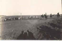 CARTE PHOTO : TERNOPIL TARNOPOL TREMBOWLA TREMBOW OBLAST UKRAINE RUSSIE RUSSIA COURSE DE CHEVAUX GUERRE MILITAIRE 1919 - Ukraine