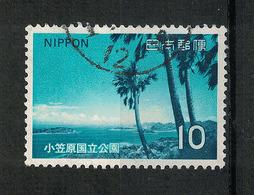 Japan Mi:01181 1973.06.26 Ogasawara National Park(used) - 1926-89 Empereur Hirohito (Ere Showa)