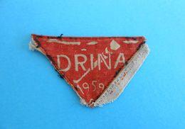 YUGOSLAV SCOUTS UNION - DRINA ( 1959.) - Vintage Patch * Scouting Boy Scout Scoutisme Escrutinio Pfadfinder Scoutismo - Scoutisme