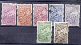 190031389  BOLIVIA  YVERT  Nº  252/8  USED/MH - Bolivia