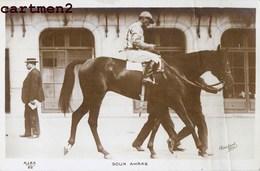 CARTE PHOTO SOUK AHRAS COURSES CHEVAL DE COURSE HIPPODROME HIPPISME HORSE JOCKEY SPORT HIPPIQUE - Horse Show