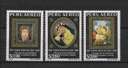 LOTE 1876  ///  (C010)  PERU  -  YVERT Nº:  PA 214/6 **MNH   ¡¡¡ LIQUIDATION !!! - Pérou