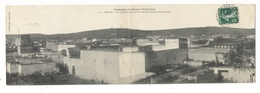 Campagne Du MAROC ( 1907-1908 )/ SETTAT / VUE PARTIELLE PRISE D' UNE TERRASSE DE LA CASBAH EL-HADJ-el-MAA / CARTE-DOUBLE - Maroc