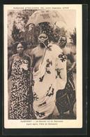CPA Agoli Agbom, Le Dernier Roi Du Dahomey, Portrait De Des Königs - Non Classés