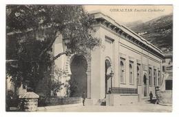 GIBRALTAR  /  ENGLISH  CATHEDRAL  /  Beau Cachet Et Timbre Anglais ( En 1925 ) - Gibraltar