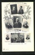 AK Il Traforo Del Sempione, H. V. Krager, Ober-Ing., C. Pressel, Ober-Ing., Chefingenieur C. Brandau - Altre Celebrità