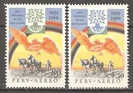 LOTE 1876  ///  (C010)  PERU  -  YVERT Nº:  A 157/158 **MNH   ¡¡¡ LIQUIDATION !!! - Perú