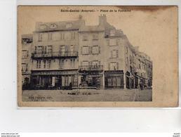 SAINT GENIEZ - Place De La Fontaine - état - Autres Communes