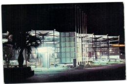Exposicion Universal E Internacional De Bruselas 1958 - Vista Nocturna Del Pabellon De Espana - Universal Exhibitions