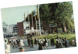 Exposicion Universal E Internacional De Bruselas 1958 - Vista Exterior Del Papellon Espanol - Universal Exhibitions