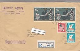 LSC 1972 - Recommandé Et Cachet TOKYO Sur Timbres - 1926-89 Empereur Hirohito (Ere Showa)