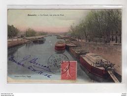 BEAUCAIRE - Le Canal Vue Prise Du Pont - Très Bon état - Beaucaire