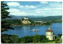 Lago Maggiore - La Rocca D'Angera Vista Da Arona - Novara