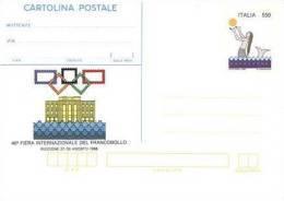 REPUBBLICA 1988 - Riccione 1988 Cartolina Postale -  £. 550 Nuova** - 6. 1946-.. Repubblica