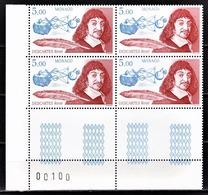 MONACO 1996 - BLOC DE 4 TP / N° 2067 - NEUFS** COIN DE FEUILLE - Monaco
