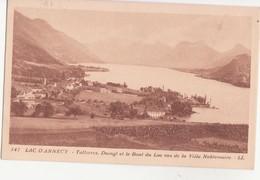 CPA - 147. Lac D'annecy Talloires, Duingt Et Le Bout Du Lac - Annecy