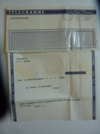 """LETTRE RADIOMARITIME  TELEGRAMME  Voie Télé France , Envoyé Du CARGO """"TIGRE""""  Messageries Maritimes  MAR 2019  02 - Postmark Collection (Covers)"""