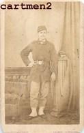 PHOTO CDV XIXeme : MILITAIRE GUERRE 1870 GARDE MOBILE PAR DROUILLARD ANGERS SOLDAT MILITARIA - Guerre, Militaire