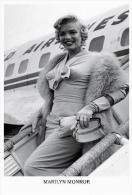 Marilyn Monroe Postcard - Size 15x10 Cm. Aprox. - Actores