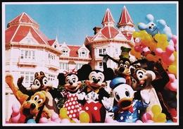 Euro Disney Paris  -  Disneyland / EuroDisney  -  Eröffnungs-Ansichtskarte 1992    (10183) - Disneyland