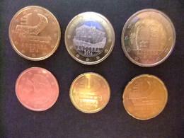 ANDORRA / ANDORRE EUROS 2014  Monedas Sin Circular - Andorra