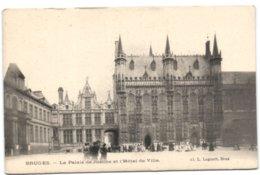Bruges - Le Palais De Justice Et L'Hôtel De Ville - Brugge