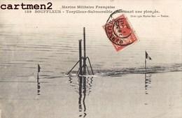 SOUS-MARIN TORPILLEUR SUBMERSIBLE EN PLONGEE SUBMARIN U-BOAT MARINE MILITAIRE GUERRE BATEAU BOAT - Sous-marins