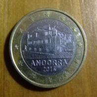 ANDORRA / ANDORRE 1 EUROS 2014  La Casa De La Vall - Andorra