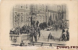 FOURMIES LE 1er MAI GREVE MANIFESTATION POLITIQUE 59 NORD - Fourmies