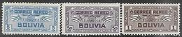 Bolivia    1932   Sc#C35, C40-1  3 Airmails    MH   2016 Scott Value $9.75 - Bolivie