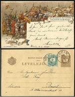 HUNGARY /CROATIA--OBLITERE VOCIN-PROCLAMATION DU ROI MATHIAS I--3 FEB 1898 - Ungarn