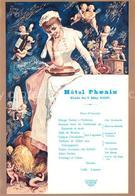 72954359 Stockholm Hotel Phoenix Diner Du 7 May 1887 Speisekarte Repro - Suède