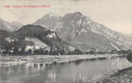 R089539 Weesen Mit Mattstock. Photoglob. Bill Hopkins Collection - Cartes Postales