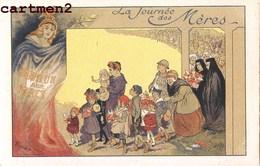 LA JOURNEE DES MERES HONNEUR AUX MERES ILLUSTRATEUR PATRIOTISME MILITARIA BASSANI NEUILLY - Evenementen